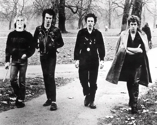 From his first day as the Sex Pistols' new drummer, the tension between Carolina Panthers receiver Brenton Bersin and Sid Vicious was obvious. That's why Bersin is carrying a stick.