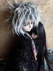 Anotsu y Misaki (Lunalila1) Tags: doll groove junplaning taeyang track kuro viii samuraisenutah utah hitsugi nightmare handmade ears hakama fur wig anotsu katou sakurai