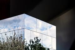 Cube (thewhitewolf72) Tags: stedelijkmuseum amsterdam cube mirror vangoghmuseum chromesteel