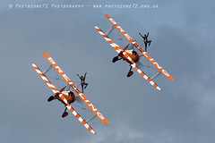 3419 wingwalkers (photozone72) Tags: eastbourne airshows aircraft airshow aviation breitlingwingwalkers breitling wingwalkers boeing stearman biplane canon canon7dmk2 canon100400f4556lii 7dmk2