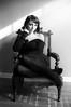 Ashley (mattbellphoto) Tags: nikonfe2 50mmf14 ilford delta400 pushprocess 35mm film bw blackandwhite xtol ashleyheller