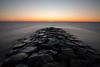 Strekdam bij zonsondergang (patrickbrouwer73) Tags: stavoren le langzame sluitertijd ijsselmeer zonsondergang