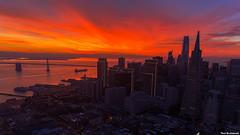 San Francisco (davidyuweb) Tags: sanfrancisco burning sky luckysnapshot sfist skyline