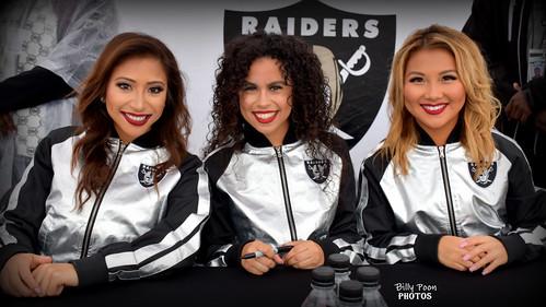 2017 Oakland Raiderettes - Sasha, Madyson & Helina