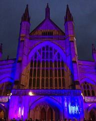 Photo of Winchester Cathedral At Christmas