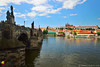 Charles Bridge, Prague (DTB_3326) (masinka) Tags: ship clouds charles karlův hrad pražský prague castle historic stone summer travel photography europe cityscape urban