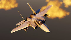 Refueling_5 (The_SkyHawk) Tags: world f15 eagle usaf refueling air force dcs digital combat simulator flight flying jets aviation virtual flightsim