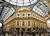 Galleria Vittorio Emanuele II (LUIS FELICIANO) Tags: galleriavittorioemanueleii galeria edificio arquitectura comercios interior milan italia olympus e5 lent1260mm