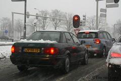 Audi 80 - 1995 (timvanessen) Tags: jvvr73 diesel d automaat automatic aut sneeuw
