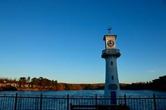 08:58 (AngharadW) Tags: explore lake angharadw roathlake fencedfriday friday fence hff