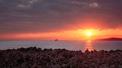Roquebrune Cap Martin (papy06200) Tags: roquebrunecapmartin alpesmaritimes cotedazur riviera provencealpescotedazur frenchriviera sunsetinméditerrannée mediterranée mermediterranee paca monaco sunset