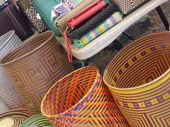 Baskets at the market... (France-♥) Tags: basket craft mexique marketday lacruz mexico pannier