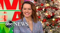 Daisy Ridley talks about spending time with Carrie Fisher on the set of 'The Force Awakens' (Xtrenz) Tags: abc actress awakens carrie daisy fisher force gma harry interview jedi last live news prince ridley set spending star talks time wars william