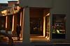 Maybe Just One Cup (MPnormaleye) Tags: neighborhood street cage coffeeshoppe coffee shoppe sunset dusk utata 50mm urban utata:project=tw610
