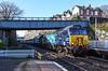 Wrong Move (Teignstu) Tags: teignmouth devon railway station drs directrailservices class57 57303 class37 37059 bridge