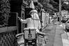 Mailman (Mr*J) Tags: post mailman delivery australia nikon 50mm street stranger snapshot city urban d7200 hobart bw