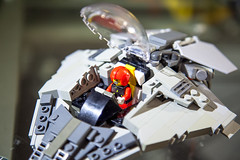Spaceman Spiff Style Ship (S_P Brick Design House) Tags: lego afol bricks toys mocs bespoke