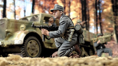Panzer Grenadiers (WesternOutlaw) Tags: wehrmacht 130 130scale toysoldiers kingcountry kingandcountry opel maultier opelmaultier normandy panzergrenadier