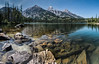 Taggart Lake (Wildside Photography) Tags: trees summer lake water taggartlake grandtetonnationalpark mountains panorama tetonrange reflection wyoming