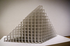 "Three-Dimensional ""Structure"" by Sol LeWitt (Greatest Paka Photography) Tags: sollewitt sfmoma artist art conceptualart structure threedimensional buildingblock geometricform minimalart sculpture museum"