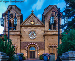 Cathedral Basilica of St. Francis of Assisi, Santa Fe (vdwarkadas) Tags: cathedralbasilicaofstfrancisofassisi santafe saintfranciscathedral newmexico church cathedral sony sonya6000 sonyilce6000