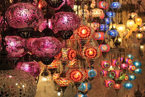 Lights in Grand Bazaar