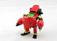 Neptune Frogsuit (Deltassius) Tags: mobile frame zero mech mecha robot submarine atlantis lego war military scifi mfz mf0 microscale