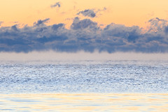 Smoke on Water (katie47n) Tags: seasmoke rockportma capeann massachusetts sunrise water ocean minimal minimalist cold winter