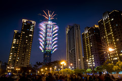 2018台北101煙火 - 2018 Taipei 101 fireworks (basaza) Tags: canon 760d taipei101 101 1635 煙火
