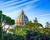 The Papal Basilica of St. Peter in the Vatican (Daveyal_photostream) Tags: vacation vatican italy city vaticancity rome church catholic religion god nikon nikor d600 meandmygear mygearandme mycamerabag motion movement holy travel trees architecture dome cathedral sky clouds bluesky tree building buildings rooftop cloudysky sunlight photoshop lightroom photographer thechurch heavenly basilica christian holiest