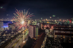 Happy New Year 2018 (Tom Berger LBF) Tags: canon 70d tberger 50mm 010118 dresden sachsen saxony germany city night color shot shoot langzeitbelichtung 30s altstadt sky panorama light flash