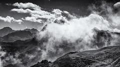 We'll have a fantastic Day... (Ody on the mount) Tags: alpen anlässe berge em5ii gipfel himmel landschaft mzuiko40150 omd olympus urlaub wanderung wolken bw clouds monochrome mountains sw sky summits sanktgallenkirch vorarlberg österreich at