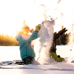children having snow fun 2 thumbnail