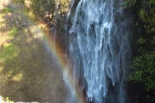 Water falls and rain bows