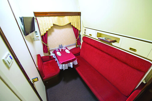 Imperial Russia Business Class by day