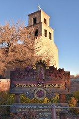 Santuario de Guadalupe (jpellgen (@1179_jp)) Tags: guadalupe mary church catholic aztec mission architecture santafe newmexico travel roadtrip nikon sigma 1770mm d7200 southwest usa america shrine history santuariodeguadalupe cross nm 2017 winter december