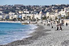 Promenade des Anglais in winter Nice Côte d'Azur France (roli_b) Tags: promenade des anglais promenadedesanglais strand beach playa plage quai weg negresco hotel winter 2017 sea mar mare meer kieselstrand nice nizza provence côte dazur cote france frankreich südfrankreich ferien travel viajar reisen tourism turismo