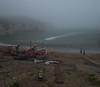 Foggy Flamborough. (tog@goldenhour) Tags: flamborough northlanding uk eastyorkshire fishingfleet harbour workingharbour toggoldenhour seascape fog foggy sonya7r dusk