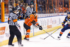 "Kansas City Mavericks vs. Colorado Eagles, December 16, 2017, Silverstein Eye Centers Arena, Independence, Missouri.  Photo: © John Howe / Howe Creative Photography, all rights reserved 2017. • <a style=""font-size:0.8em;"" href=""http://www.flickr.com/photos/134016632@N02/39106607362/"" target=""_blank"">View on Flickr</a>"