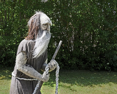 Montagsgesicht / Monday Face (Runemaker) Tags: montagsgesicht mondayface erzabtei archabbey beuron badenwürttemberg germany deutschland pilger pilgrim art kunst statue humor beard bart