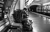Fujinon XF 35 mm f/1.4 R - DSCF1924 (::Lens a Lot::) Tags: fujinon xf 35 mm f14 r paris | 2017 subway people wide angle lens black white blackandwhite street photography streetphotography noir et blanc monochrome dc art bokeh candid portrait depth field dof darkness