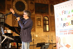 Fiera delle parole 2017 Padova Gaetano Curreri e Massimo Cirri