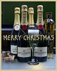 Merry Fizzmas (© Freddie) Tags: champagne moet moetchandon louvelfontaine cava stgermain 10abv 115abv 12abv 20abv alcohol fizz drink bottle bottles glass bubbles ©freddie fjroll