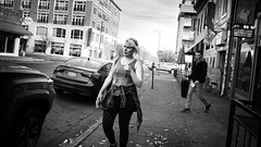East 8th Street, 2017 (alhawley) Tags: american bw usa acros blackandwhite candid everytownusa monochrome photoessay ricoh ricohgrii street streetphotography streetlevelphoto candidstreetphotography winogrand