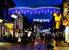 Christmas lights in my hometown: Part 1 (charmychelle1) Tags: christmaslights 35mm nikond3300 nikon nightphotography happyholidays merrychristmas festive christmas