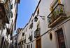 Street in Evora (Jocelyn777) Tags: buildings street balconies doorsandwindows historictowns historicalcentre cities towns whitevillages evora alentejo portugal travel