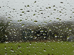 Today (ART NAHPRO) Tags: raindrops window pane glass sussex rural weather december 2017 rain
