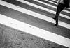 Crosswalk (Hans-Jörg Aleff) Tags: losangeles blackwhite crosswalk streetphotography california usa