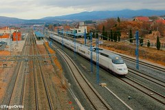 La ultima del 2017. (yagoortiz) Tags: ave 100 100023 calatayud tren renfe 25 aniversario zaragoza viaje marsella madrid