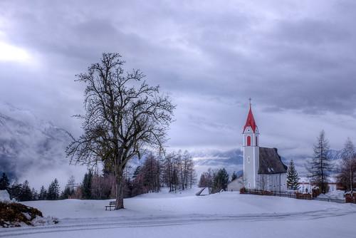 Mariä Heimsuchung kerkje in Mösern Tirol